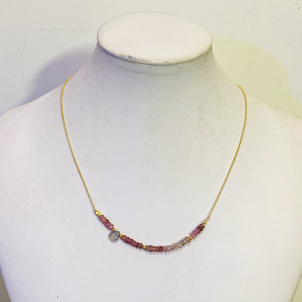 Ari Tourmaline Choker Necklace