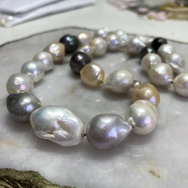Mix Baroque Pearl Necklace