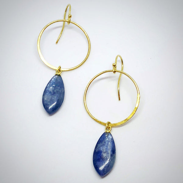 Kyanite Chandelier Earrings