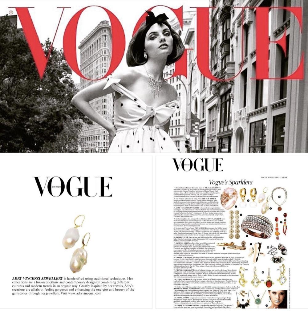 Vogue Baroque Pearl Earrings