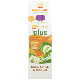 Happy Tot Organic Toddler Food Plus, Kale Apple & Mango