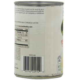 Health Valley Organic Soup, Cream of Chicken