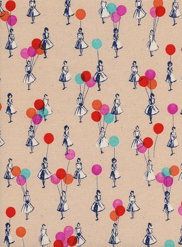 Cotton + Steel - Balloons Peach - 0045-02 (Jubilee collection)