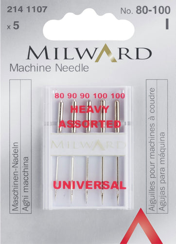 Milward sewing machine needles - Universal - Heavy Assorted