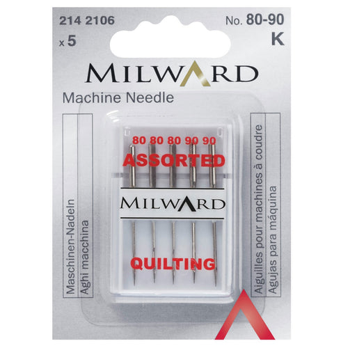Milward sewing machine needles - Quilting