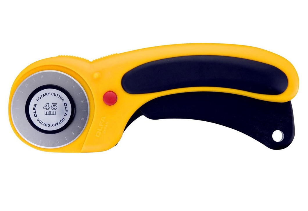 Olfa deluxe rotary cutter 45mm - Retracting