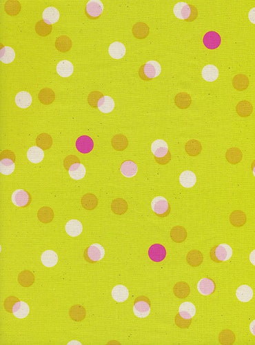 Cotton + Steel - Party Lights Yellow - 0047-04 (Jubilee collection)