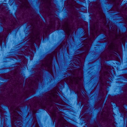 Free Spirit - Feather Blue - PWNW082.BLUEX - (Ghost collection)