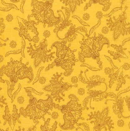 Free Spirit - Persian Botanical Gold - PWKM025.GOLDX - (Persia collection)
