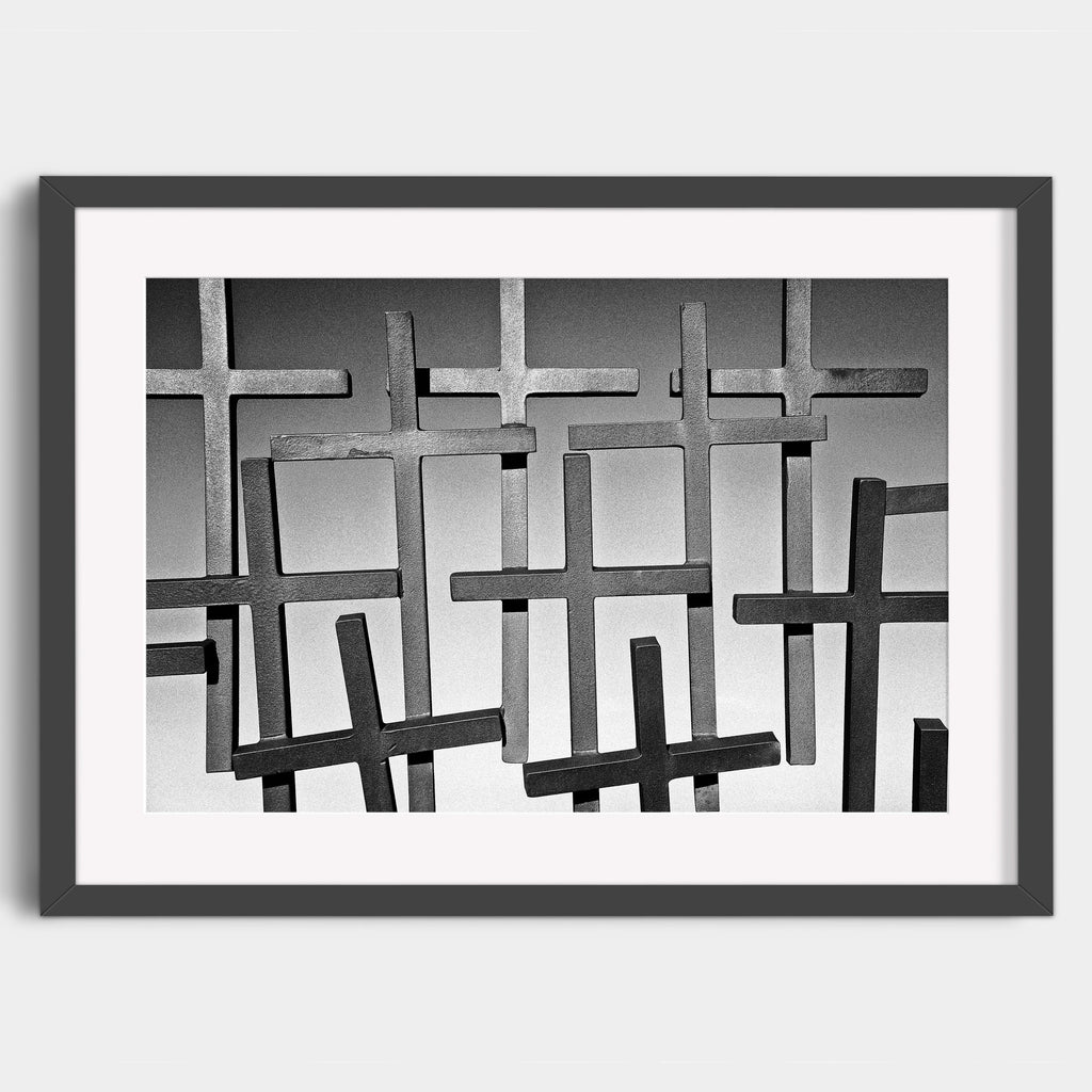 Crosses on the Coastal Route - Fine Art Print