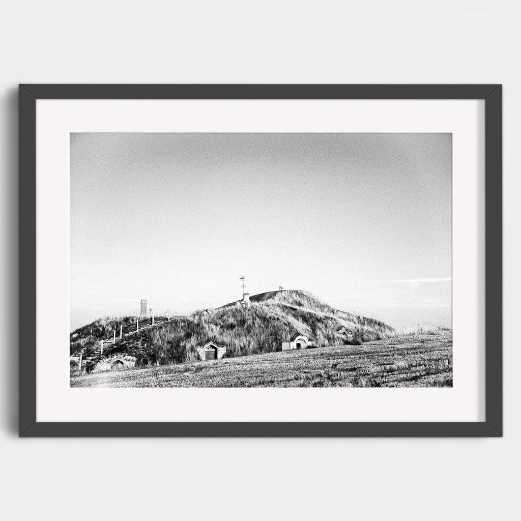 Modesto's Chair atop the Bodegas of Moratinos - Fine Art Print