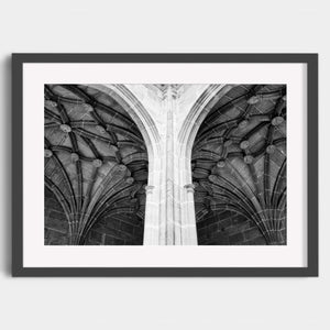 Monastery of Suso - Lower Cloister - Fine Art Print