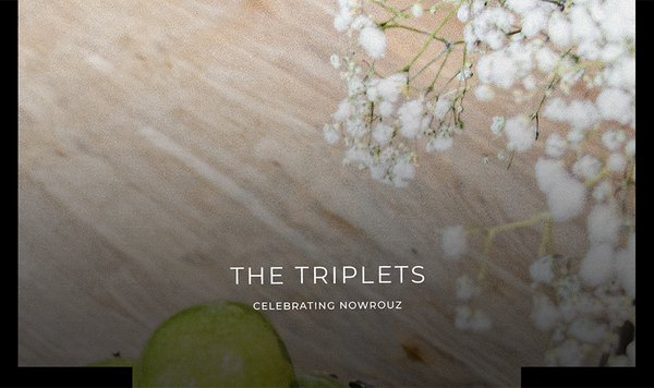 The Triplets Celebrating Nowrouz