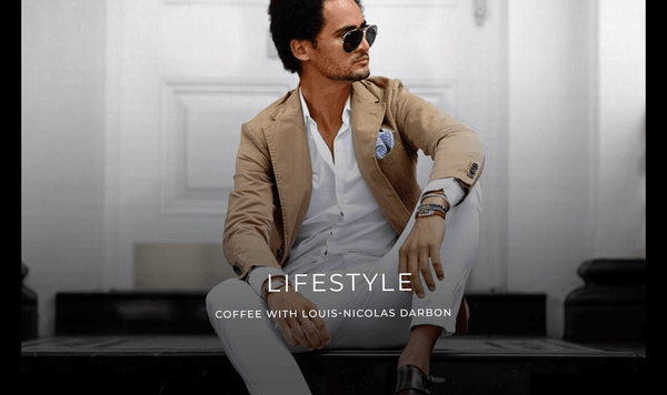 LIFESTYLE COFFEE WITH LOUIS