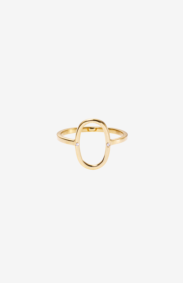 Tanaz Oval Ring