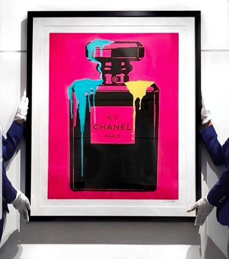 Neon Pink Chanel No5