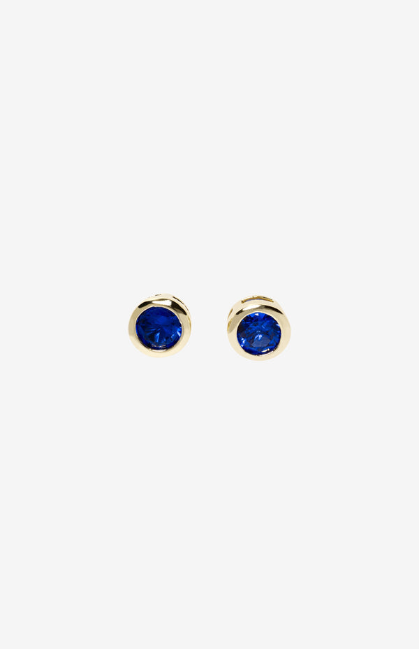 Meredith Blue Studs