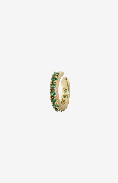 Rosalind Ear Cuff Green