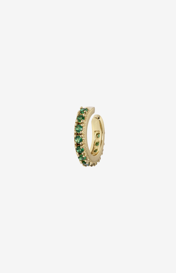 Rosalind Ear Cuff | Green