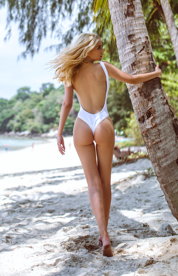 Maui Swimsuit | icy white