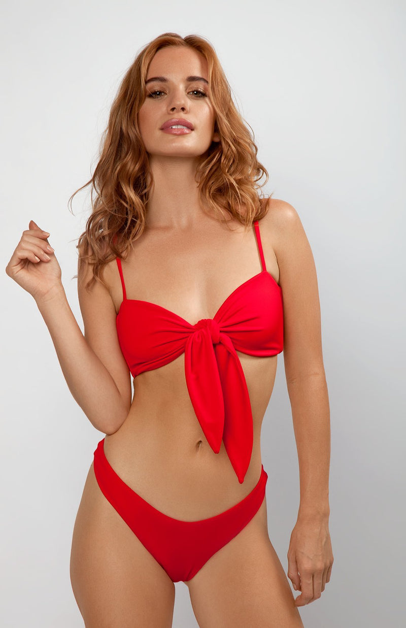 Femme Top | Baby Gurl red