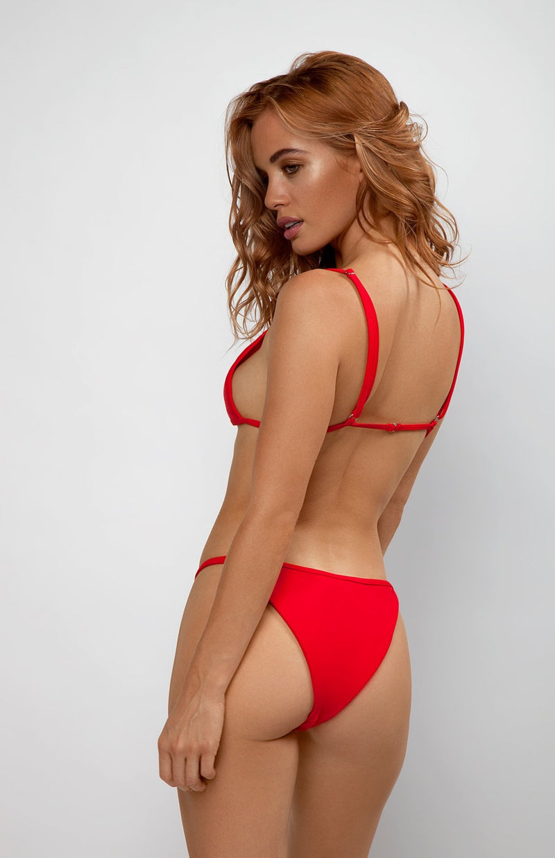 Purity Bottoms | Baby Gurl red