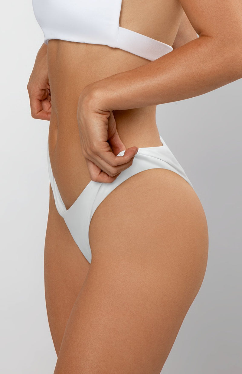 Belle Bottoms | icy white