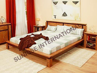 5 pc Bedroom Set furniture - 1 King/Queen Bed , 2 Bedsides , 1 Dresser, 1 mirror frame !- Furniture online: Buy wooden furniture for every home with best designs
