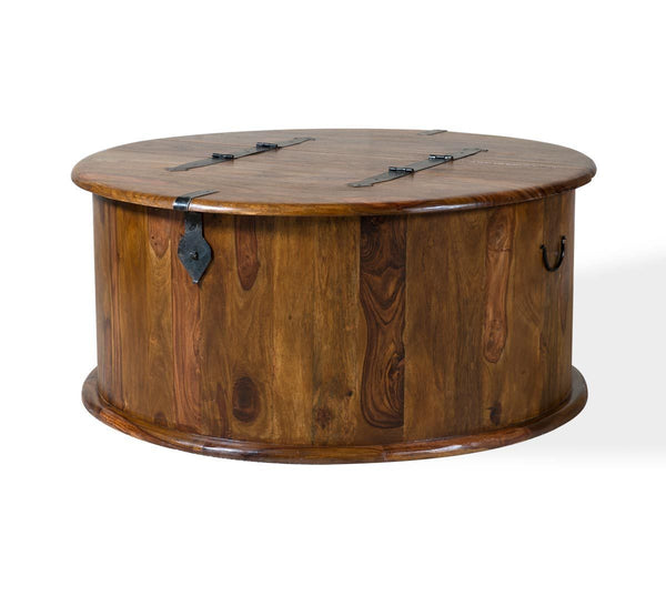 Wooden Coffee Table Solid Sheesham Wood Center Table Online In