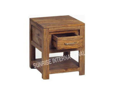 Contemporary Wooden Bed side cabinet (1 drawer) !!- Furniture online: Buy wooden furniture for every home with best designs