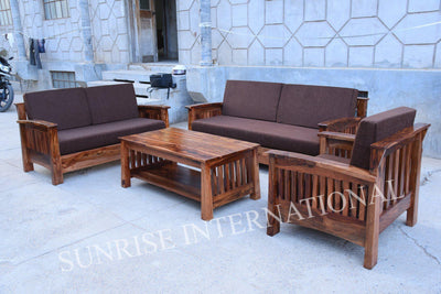 wooden sofa set designs online