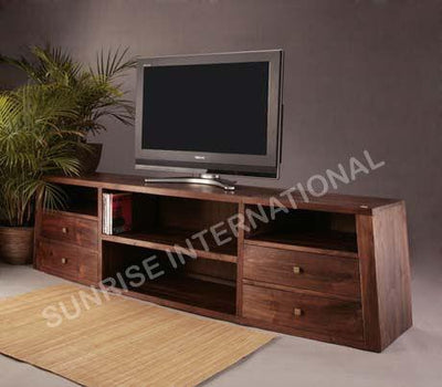 Custom order - Long Wooden TV cabinet / TV unit 180x60x50H cms- Furniture online: Buy wooden furniture for every home with best designs