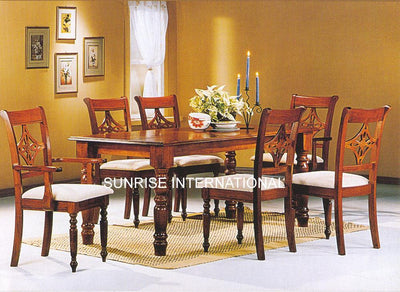 dining table sets, wooden dining table set designs online, Buy solid wood dining table chair sets, sheesham wood dining table set designs in India - www.thetimberguy.com