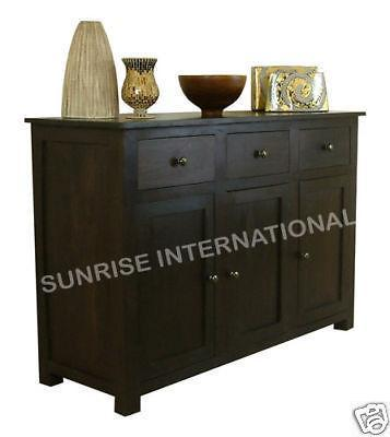 buy solid sheesham wood wooden sideboard cabinet crockery unit online with best designs in India at cheap price - www.thetimberguy.com