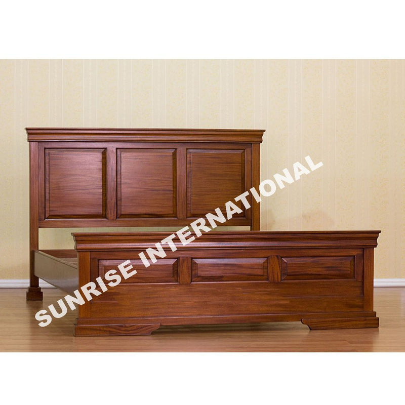 Solid Wood Bed Wooden Bed Sheesham Wood Storage Bed