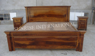 beds, wooden bed designs online, solid sheesham wood beds design online, buy wooden storage beds online in India -www.thetimberguy.com