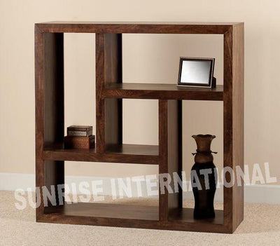 buy solid sheesham wood wooden bookshelf bookcase with best designs in India at cheap price - www.thetimberguy.com