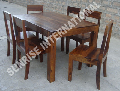 Bon Trendy Wooden Dining Table With 6 Chair Set !  Furniture Online: Buy Wooden  Furniture