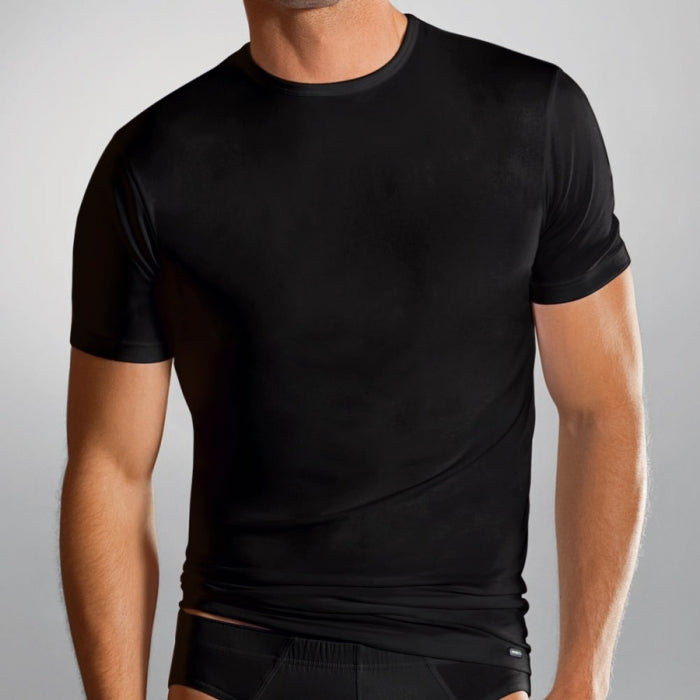 Jockey Fitted Black T- Shirt