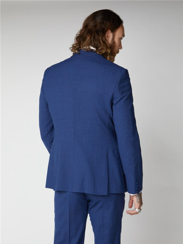 Gibson London Blue Textured Jacket