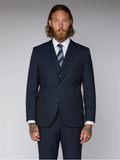Gibson London Navy Twill Suit Trouser