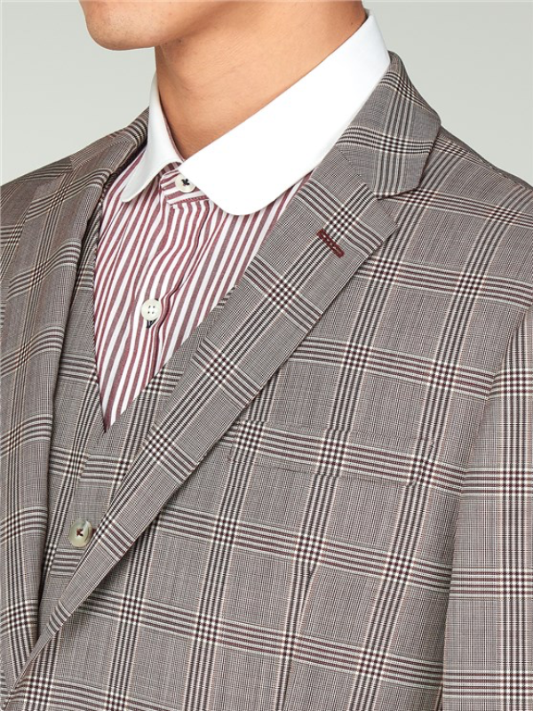 Gibson London Red Check Jacket