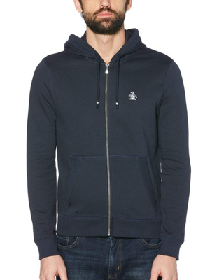 Original Penguin Navy Full Zip Sweat