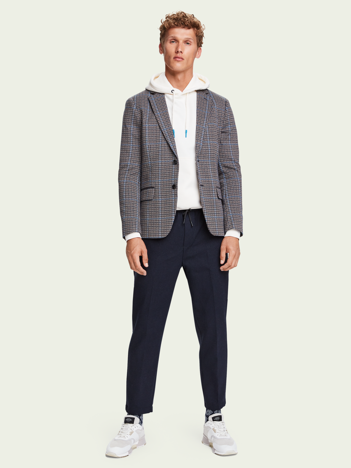 Scotch & Soda Check Blazer