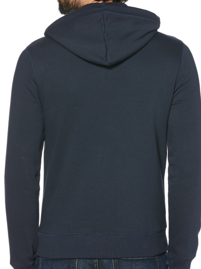 Original Penguin Navy Fleece Hoodie