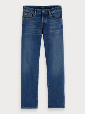 Scotch & Soda Don't Forget Blauw Vernon Jeans