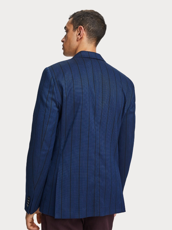 Scotch & Soda Yarn Dyed Patterned Blazer