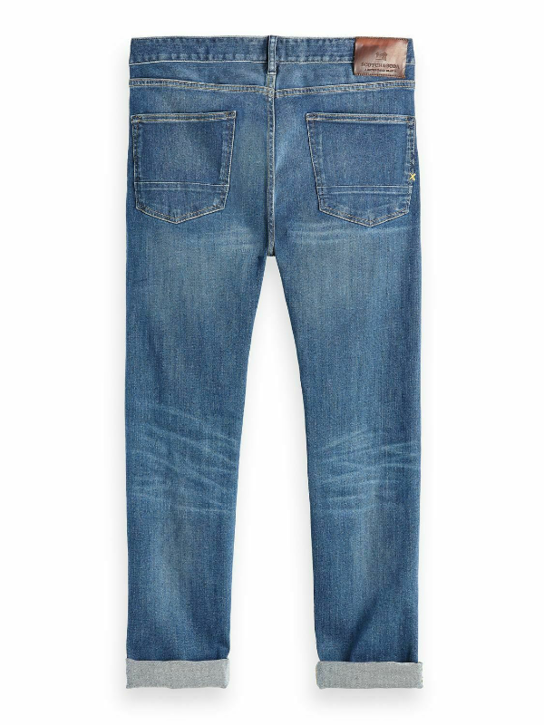 Scotch & Soda Vernon - Lucky Blauw Dark