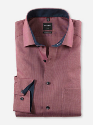 Olymp Wine Modern Fit Shirt