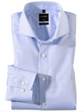 Olymp Modern Fit Blue Cutaway Collar